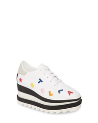 Stella McCartney Sneak Elyse Logo Platform Sneaker