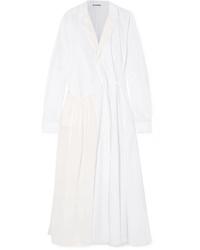 Jil Sander Cotton Poplin Coat