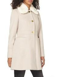 Dorothy Perkins Faux Fur Collar Coat