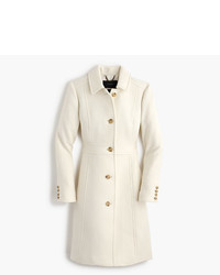 J.Crew Italian Double Cloth Wool Lady Day Coat With Thinsulate