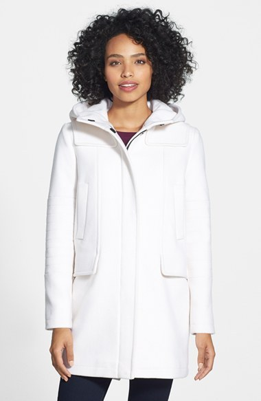 Vince Camuto Wool Blend Duffle Coat | Where to buy & how to wear