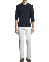 a0161dbbd ... True Religion Ricky Five Pocket Corduroy Jeans White