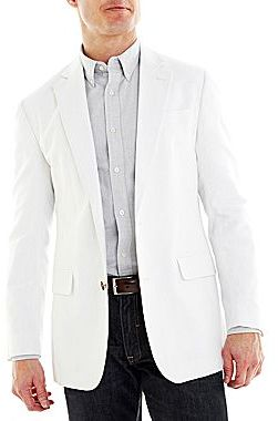 jcpenney Stafford Linen Cotton Sport Coat | Where to buy &amp how to wear