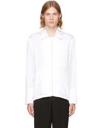 White poplin sport jacket medium 4391385