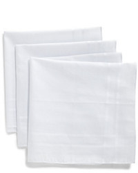 Saks Fifth Avenue Collection Cotton Pocket Square Set