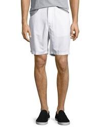 Michael Kors Michl Kors Tailored Cotton Chino Shorts White