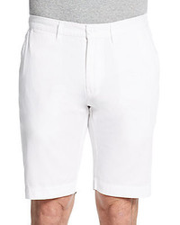 Saks Fifth Avenue Twill Cotton Shorts