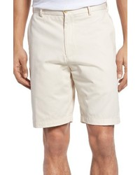 Peter Millar Winston Washed Twill Flat Front Shorts