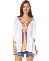 Nanette Lepore Peace Love Caftan Cover Up