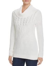 Calvin Klein Mix Stitch Cowl Neck Sweater 100% Bloomingdales