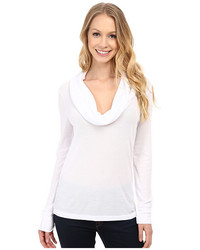 MICHAEL Michael Kors Michl Michl Kors Long Sleeve Raglan Stripe Waffle Top
