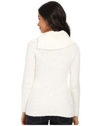 Calvin Klein Open Cowl Neck Sweater