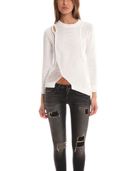 3.1 Phillip Lim Long Sleeve Asymmetric Pullover