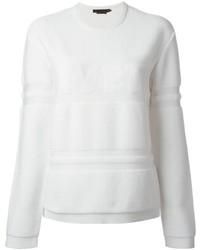 Alexander Wang Wet Embossed Sweatshirt