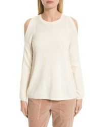 Joie Amalyn Cold Shoulder Wool Cashmere Sweater