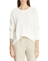 Eileen Fisher Boxy Organic Cotton Sweater