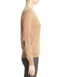Burberry Brit Check Patch Merino Sweater