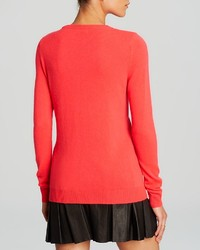 Bloomingdale's C By Crewneck Cashmere Sweater