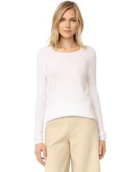 Cashmere long sleeve cashmere sweater medium 953816