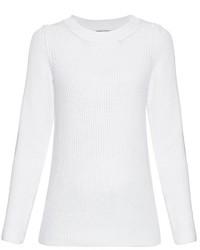 Sonia Rykiel Chunky Knit Back Overlay Sweater