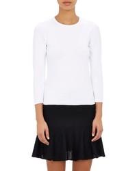 Barneys New York Crewneck Sweater White Size Xs