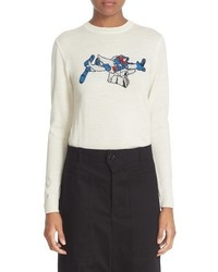 JULIEN DAVID Crewneck Wool Sweater