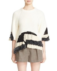 3.1 Phillip Lim Hand Knit Wool Blend Sweater