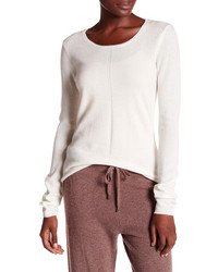 In Cashmere Basic Long Sleeve Cashmere Pullover