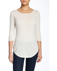 In Cashmere Boatneck Cashmere Pullover