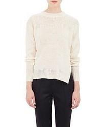 Etoile Isabel Marant Isabel Marant Toile Mixed Stitch Ludlow Sweater White