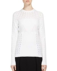 Kenzo Pointelle Knit Sweater