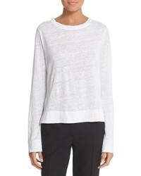 DKNY Knit Linen Pullover