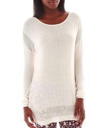 MNG by Mango Long Sleeve Tunic Sweater