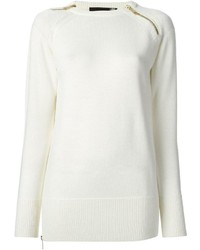 Love Moschino Zip Detail Jumper