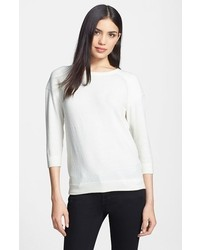 Marc by Marc Jacobs Veronica Stretch Sweater Whisper White Large