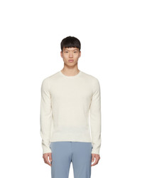 Prada Off White Cashmere Sweater