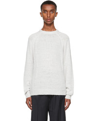 Our Legacy Off White Chunky Raglan Sweater