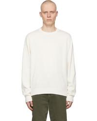 Helmut Lang Off White Logo Sweater