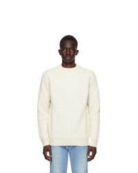 Harmony Off White Wool Wally Sweater