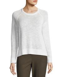 Eileen Fisher Organic Linen Cotton Slub Sweater