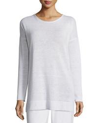 Eileen Fisher Organic Linen Fine Gauge Tunic