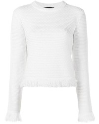 Proenza Schouler Frayed Trim Jumper