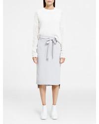 DKNY Pure Novelty Stitch Pullover