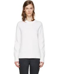Rag & Bone Rag And Bone White Ginnie Cut Out Sweater