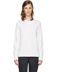 Rag & Bone White Ginnie Cut Out Sweater