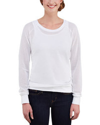 Merrell Salina Pullover White Long Sleeve Shirts