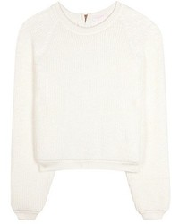 See by Chloe See By Chlo Knitted Cotton Sweater