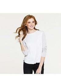 Six Twenty Color Block Long Sleeve Pullover