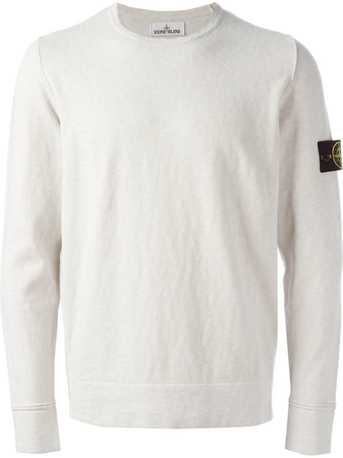 ... Stone Island Crew Neck Sweater
