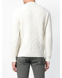 Ermenegildo Zegna Textured Knit Jumper